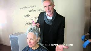 how to bring out gray in hair makeover how to grow out gray but keep some color by christopher