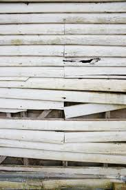 falling down old white weatherboard wooden wall background www