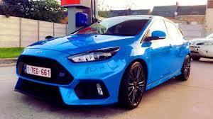voiture ford ma nouvelle voiture de 350 ch ford focus rs 2017 youtube