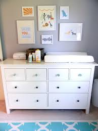 Dresser Changing Table Ikea Hemnes Dresser By Ikea To As Changing Table Nursery