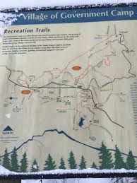 Mt Hood Trail Map Snow Shoeing The Mt Hood National Forest U2014 Hiking The Beautiful Pnw