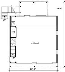 Carriage House Apartment Plans First Floor Plan Of Southwest Vacation Garage Plan 95880 Home