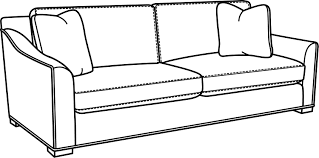 Sofa Drawing by Fisher Sofas Loveseats Products