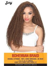 crochet braids with bohemian hair zury synthetic crochet braid bohemian braid 20 elevate styles