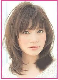 framed face hairstyles with bangs 25 best collection of medium haircuts with bangs for oval faces