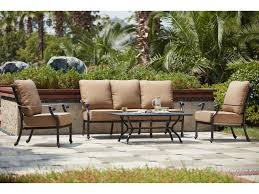 Madison Outdoor Furniture by Darlee Outdoor Living Standard Madison Cast Aluminum 4 Piece Deep