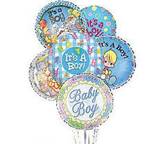 balloon bouquets new baby it s a boy balloon bouquet hospital gift shop