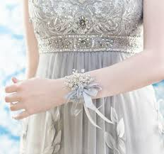 Wrist Corsages For Prom Wrist Corsage Iridescent Beads Wedding Accessory For Mothers