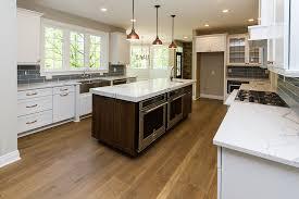 white kitchen cabinets with oak flooring mixed width engineered wide plank white oak flooring oak
