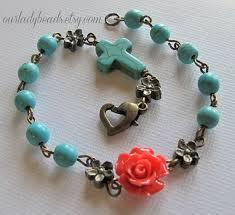 rosary bracelets best 25 rosary bracelet ideas on diy bracelet rosary