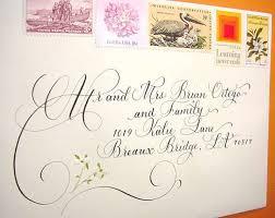 calligraphy invitations addressing wedding invitation envelopes to bay bridebeach