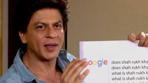 srk reveals his phone number while answering the most googled