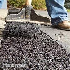 concrete driveway sinking repair how to fix a sinking driveway driveways patches and layering