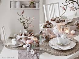Esszimmertisch Zu Verschenken Leaves And Butterflies Ein Gedeckter Tisch Zu Ostern Gedeckter