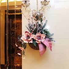 Artificial Flower Decorations For Home Cheap Outdoor Artificial Flower Arrangements Find Outdoor