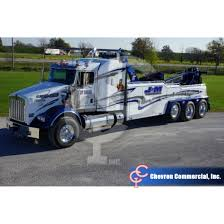 truck wreckers kenworth t800 sleeper w vulcan v100 heavy duty wrecker