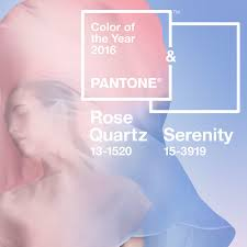 2016 Color Of The Year Rose Quartz And Serenity Colors Of 2016
