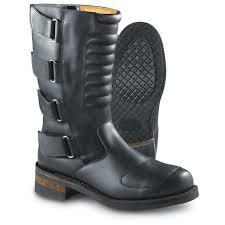 motorcycle gear boots men u0027s guide gear biker boot black 79980 motorcycle u0026 biker