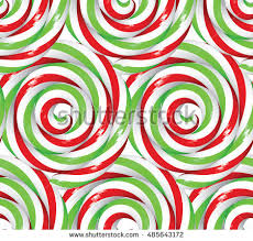 christmas pattern red green seamless christmas pattern twisted lollipops festive stock vector hd