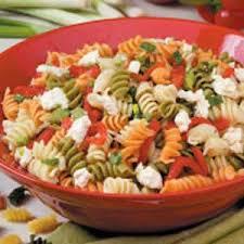 Cold Pasta Salad Recipe Roasted Pepper Pasta Salad Recipe Taste Of Home