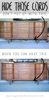 how to organize wires behind desk 10 stylish ways to hide unsightly cords and wires in your home
