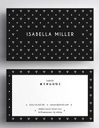 30 minimalistic business card designs psd templates design