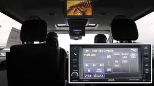 dvd system operation 2015 chrysler town and country sam