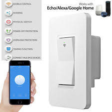 echo compatible light switch amazon alexa lighting switches with connected home product ebay