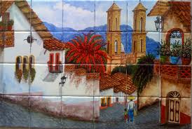 mexican tile lomeli ceramic murals for tile murals