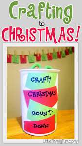 little family fun christmas craft countdown