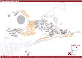 Wsu Map Parking Maps Western Sydney University