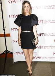 rose byrne dazzles in lbd at new york women in film u0026 television