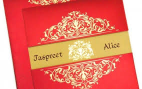 traditional indian wedding invitations indian wedding card with gold foil printing