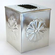 tissue box cover tinwork punchwork tin u2013 dogwood hill gifts