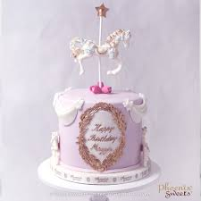 phoenix sweets order standard fondant cake online carousel cake