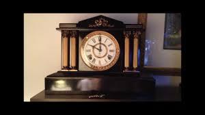 Antique Mantel Clocks Value Antique Ansonia Clock Boston Model Circa 1880 It Chimes