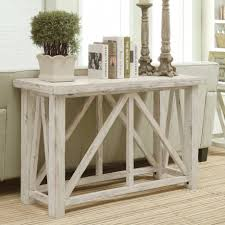 Painted Wood Coffee Table Living Room White Mirored Sofa Table Console Collection Also