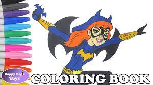 dc super hero girls batgirl coloring book pages dc superhero girls