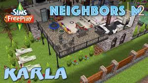 sims freeplay karla u0027s house neighbor u0027s original house design