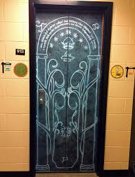 Lotr Home Decor Had To Pretty Much Fudge The Proportions But Here Is My Dorm Room
