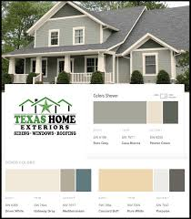 paint colors options combinations texas home exteriors