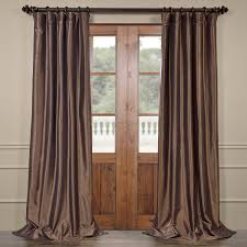 Blackout Curtains Faux Silk Blackout Curtains Half Price Drapes