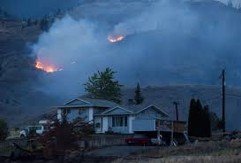 Bc Wildfire Highway Closures by Residents Ordered Out Of Williams Lake B C Ahead Of Fire Fanned