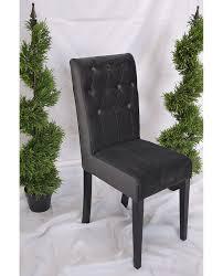 Black Velvet Dining Room Chairs by Black Velvet Dining Chair Hire