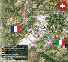 utmb cus map mountain running march 2014