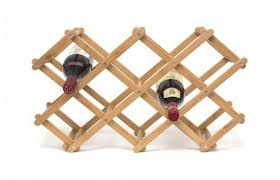 andover mills morrissey bamboo 10 bottle tabletop wine bottle rack
