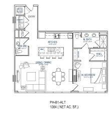 One Bedroom Floor Plans One Light Apartments Kansas City Apartment Floor Plans