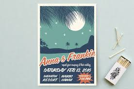 wedding invitations hawaii retro hawaii wedding invitations by coco and ellie design minted