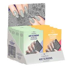 spring art screen 8 count display young nails inc cosmoprof
