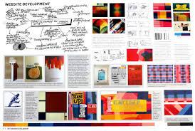 Art Portfolio Design Graphic Design Sketchbook Ideas U2013 22 Inspirational Examples